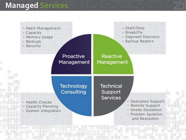 zData Managed Services - Greenplum and Hadoop Slide 2