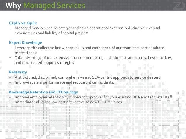 zData Managed Services - Greenplum and Hadoop Slide 3