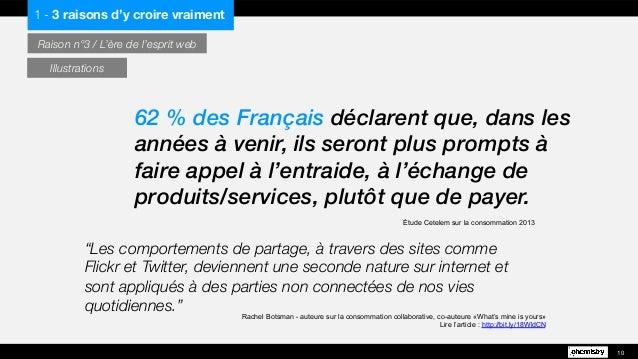 """""""Les comportements de partage, à travers des sites comme Flickr et Twitter, deviennent une seconde nature sur internet et ..."""