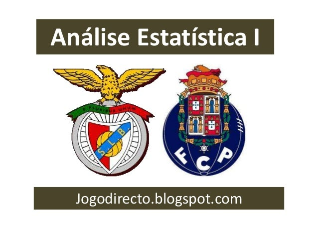 Análise Estatística I Jogodirecto.blogspot.com