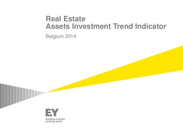 Real Estate Assets Investment Trend Indicator Belgium 2014