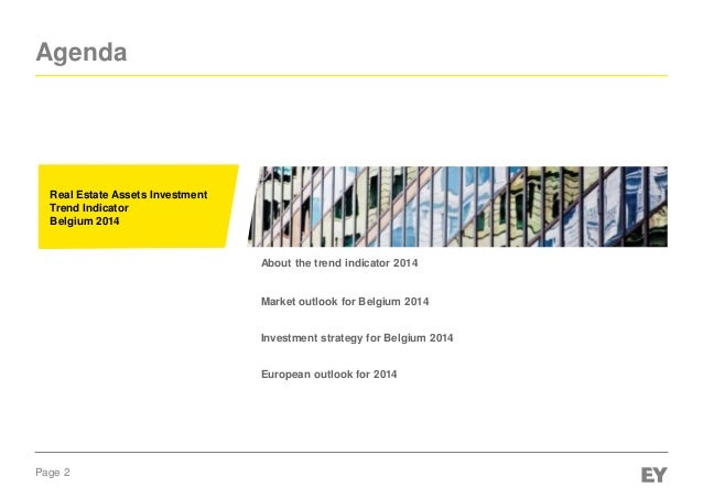 EY Real Estate Asset Investment trend indicator 2014  Slide 2