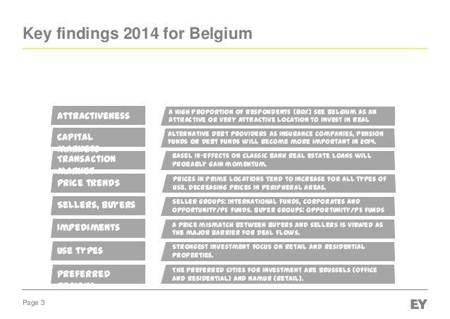 EY Real Estate Asset Investment trend indicator 2014  Slide 3