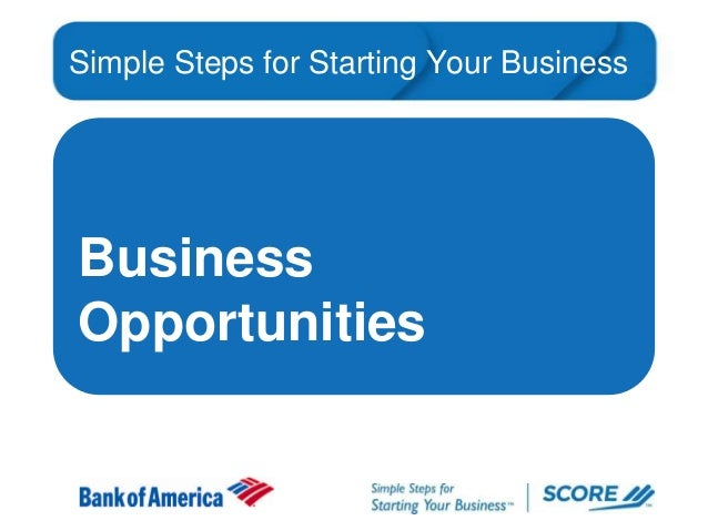 Simple Steps for Starting Your Business  Business Opportunities