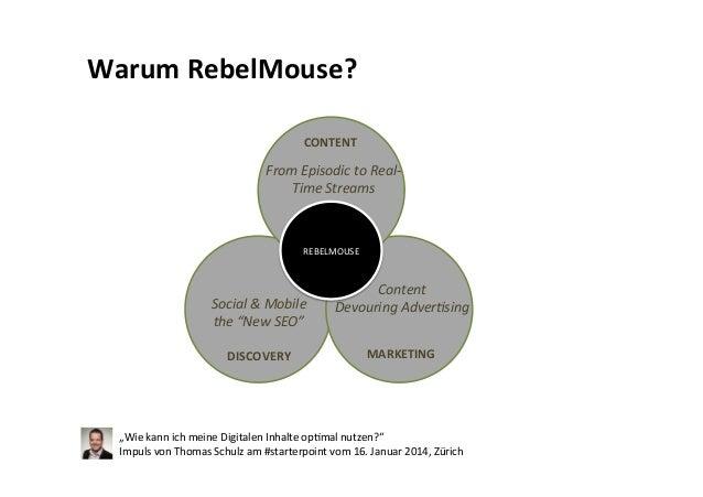 #starterpoint Impuls vom 16. Januar 2014, Zürich: Wie kann ich meine digitalen Inhalte optimal nutzen Slide 3