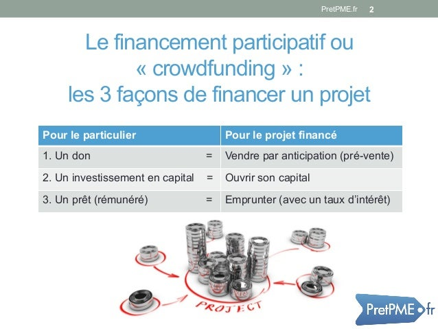 crowdfunding financement participatif 3eme webinaire de pret pme. Black Bedroom Furniture Sets. Home Design Ideas