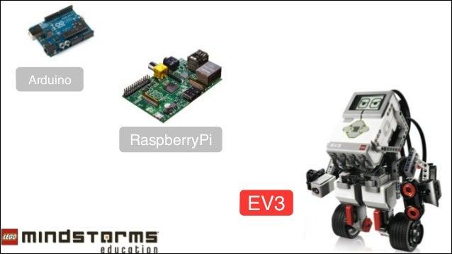 EV3紹介プレゼン@Yahoo! Japan Open Hack Day 2 Slide 3