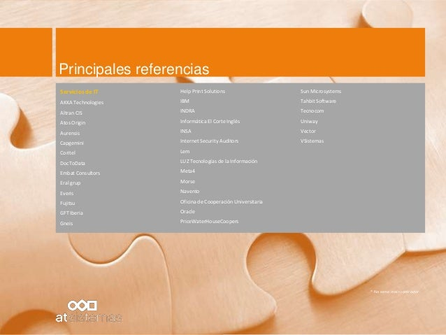 201401 at sistemas ibm websphere commerce v2 for Privalia barcelona oficinas