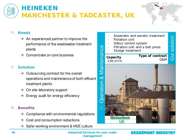 Water Treatment Services : En presentation water treatment services for industry