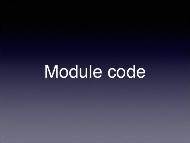 Node.js patterns of module export / require Slide 3