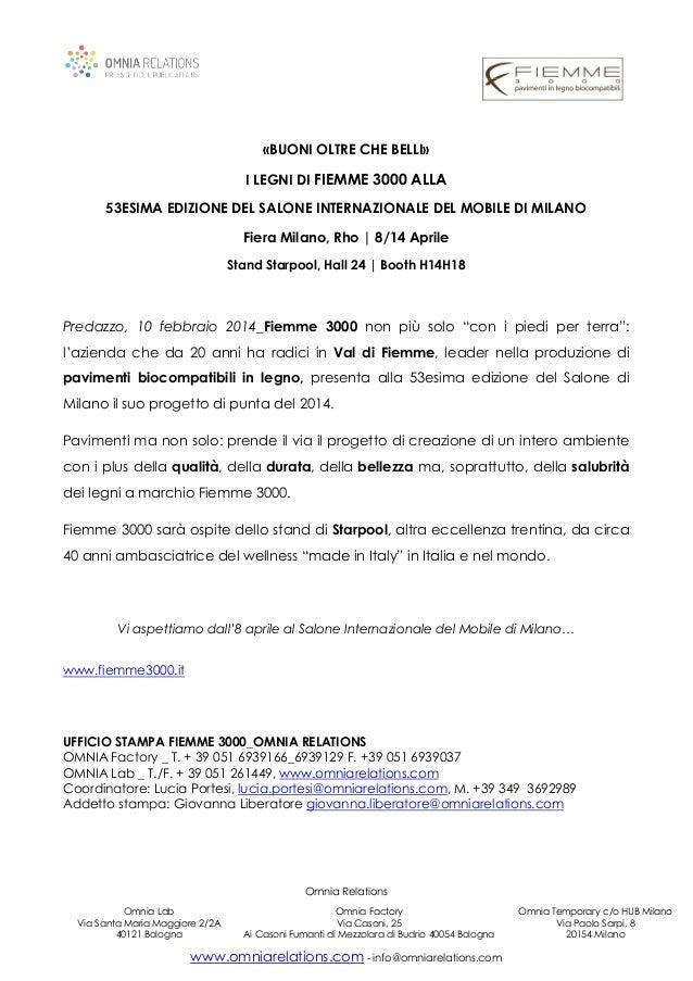 Omnia Relations Omnia Lab Via Santa Maria Maggiore 2/2A 40121 Bologna Omnia Factory Via Casoni, 25 Ai Casoni Fumanti di Me...