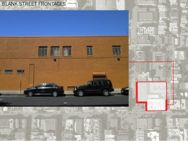 BLANK STREET FRONTAGES MISSIONST 16TH ST CAPPST