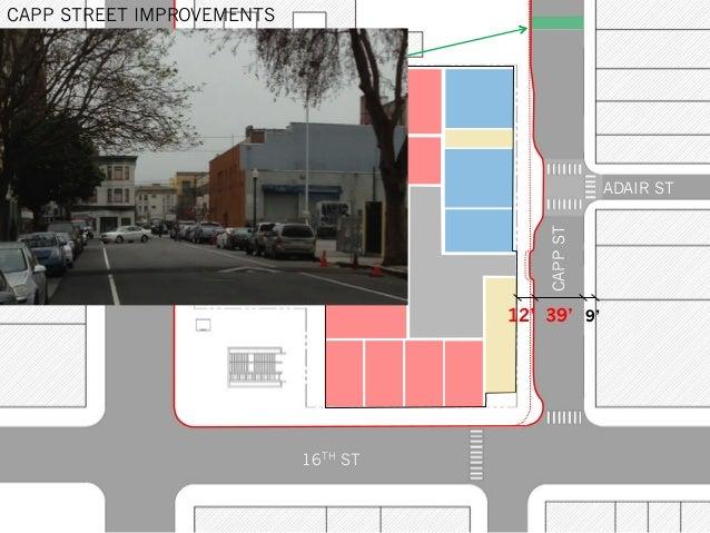 MISSIONST CAPPST 16TH ST ADAIR ST CAPP STREET IMPROVEMENTS 39'12' 9'