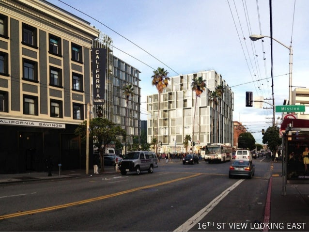 16TH ST VIEW LOOKING EAST