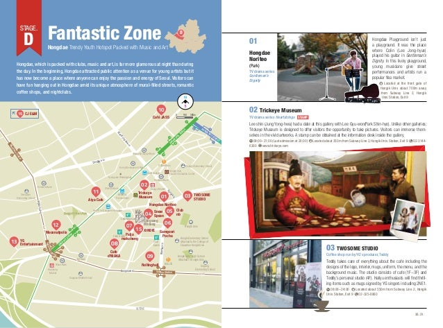 D Fantastic Zone  STAGE.  D  01  Hongdae Trendy Youth Hotspot Packed with Music and Art  Hongdae Noriteo  Hongdae, which i...