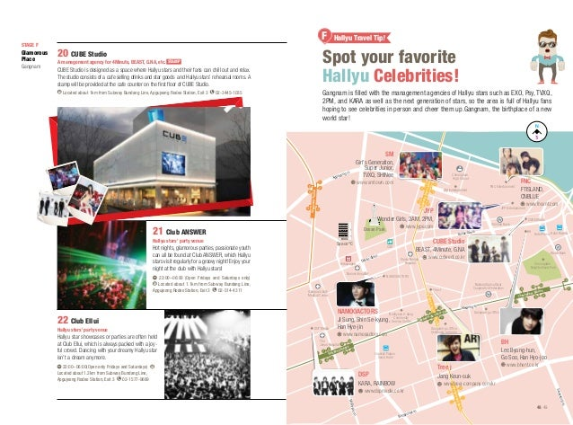 Spot your favorite Hallyu Celebrities!  20 CUBE Studio A management agency for 4Minute, BEAST, G.NA, etc. STAMP  CUBE Stud...