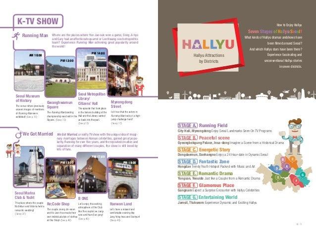 K-Tv Show Running Man  How to Enjoy Hallyu  Seven Stages of Hallyu Seoul!  Where are the places where Yoo Jae-suk won a ga...