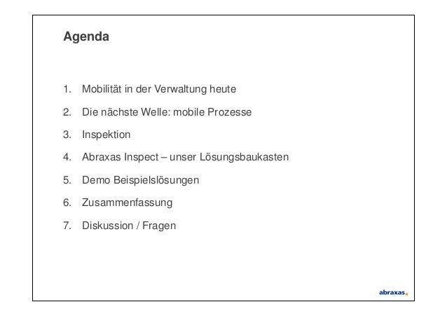 Mobile Prozesse in der Verwaltung – mehr als nur Apps und Devices Slide 2