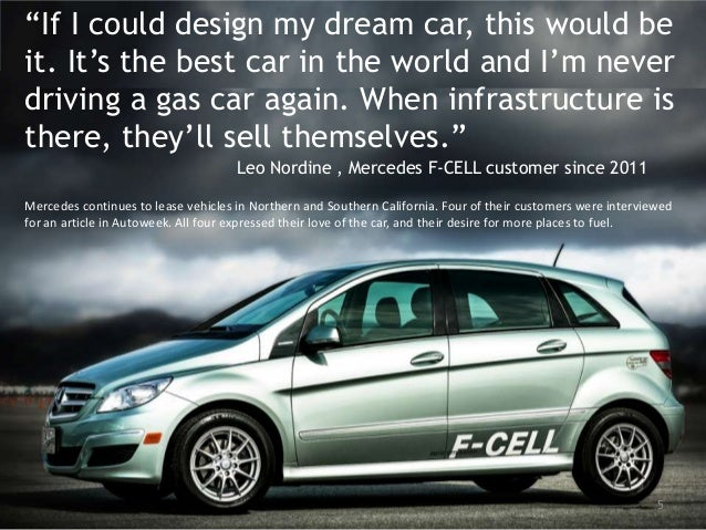 Mercedes Car Leases Los Angeles >> The Emerging Fuel Cell Electric Vehicle Market