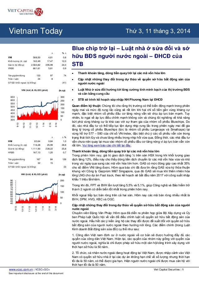 www.vcsc.com.vn | VCSC<GO> Viet Capital Securities | 1 See important disclosure at the end of this document All Report Typ...