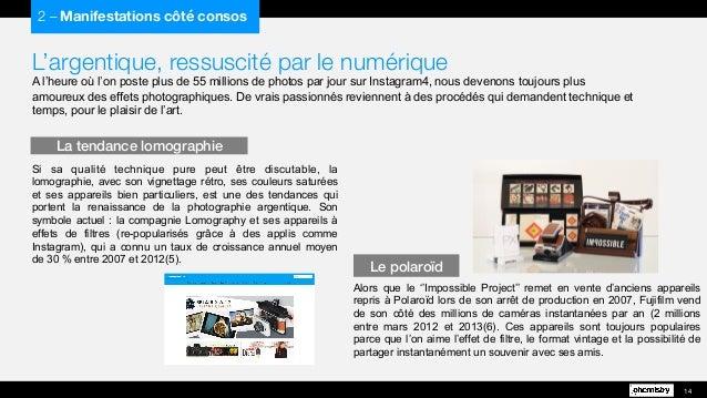 L'argentique, ressuscité par le numérique A l'heure où l'on poste plus de 55 millions de photos par jour sur Instagram4, n...