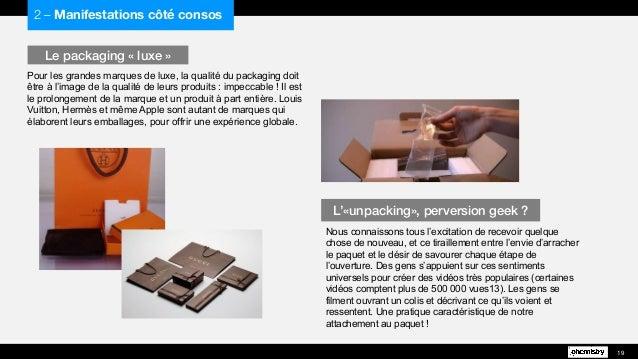 Pour les grandes marques de luxe, la qualité du packaging doit être à l'image de la qualité de leurs produits : impeccable...