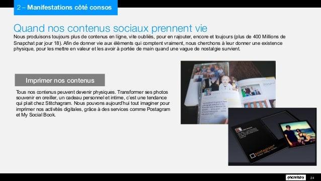 Quand nos contenus sociaux prennent vie  Nous produisons toujours plus de contenus en ligne, vite oubliés, pour en rajoute...