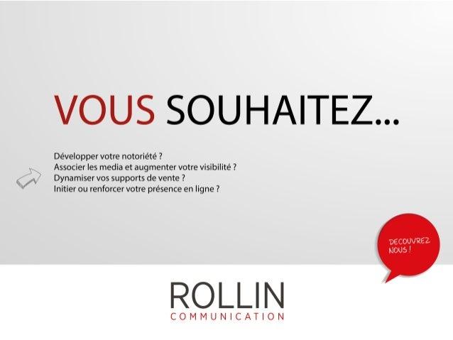 Conseil en communication globale - ROLLIN Communication