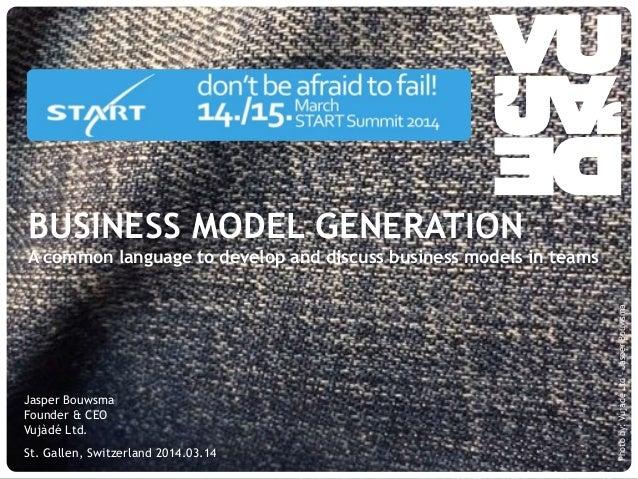 © Vujàdé Ltd. – Supporting Forward Thinking Jasper Bouwsma Founder & CEO Vujàdé Ltd. St. Gallen, Switzerland 2014.03.14 Ph...