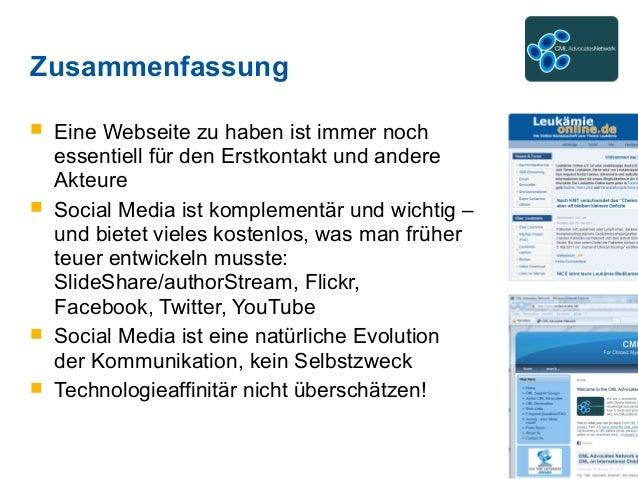 Zusammenfassung  Eine Webseite zu haben ist immer noch essentiell für den Erstkontakt und andere Akteure  Social Media i...