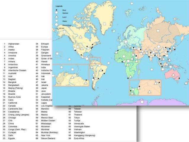 topografie in de klas - vakdidactiek aardrijkskunde - educatieve mino…