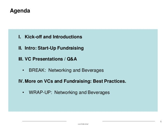 Show Me the Money:  What are VC's investing in and why? Slide 2