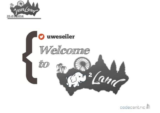 25.03.2014 Welcome to uweseiler