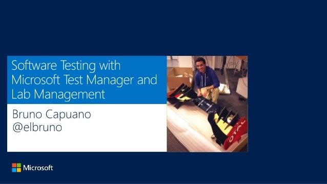 Bruno Capuano Innovation Manager @elbruno http://www.elbruno.com