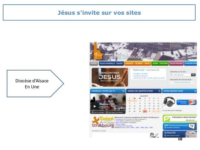 10 Diocèse d'Alsace En Une Jésus s'invite sur vos sites