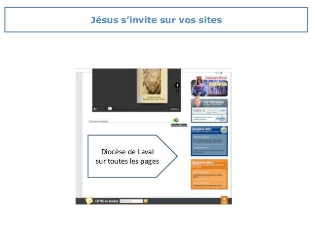 Diocèse de Laval sur toutes les pages Jésus s'invite sur vos sites