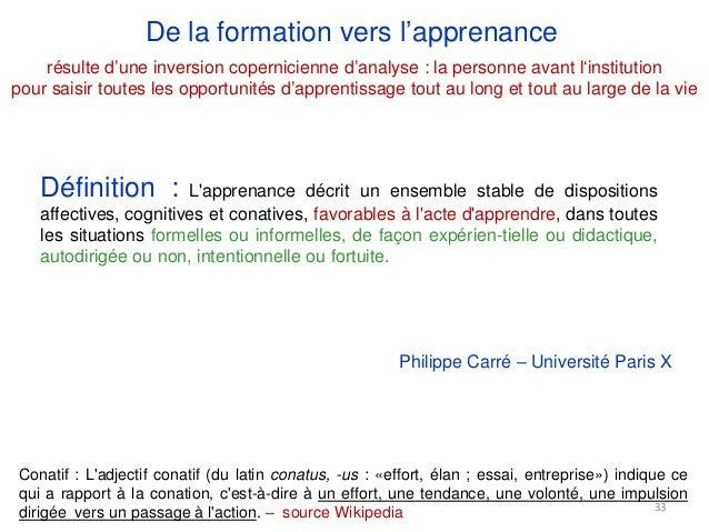 Présence du formateur/accompagnateur Absence du formateur / accompagnateur Utilisation forte des iressources Pas d'utilisa...