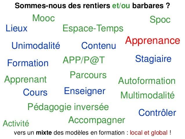 Vendredi 28 mars 2014 - ARIFOR Les dimensions multimodales de la formation Merci de votre attention 45