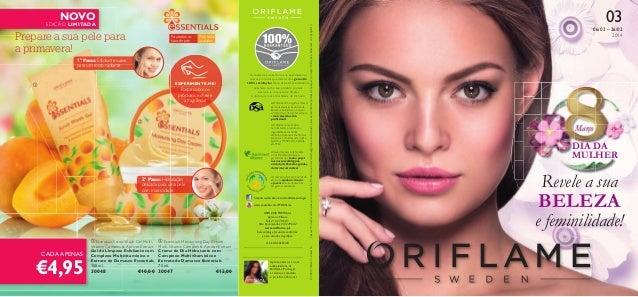 03  Para todas as idades  1º Passo: Esfoliante suave para um rosto radiante EXPERIMENTE-ME!    Raspe sobre os produtos e ...