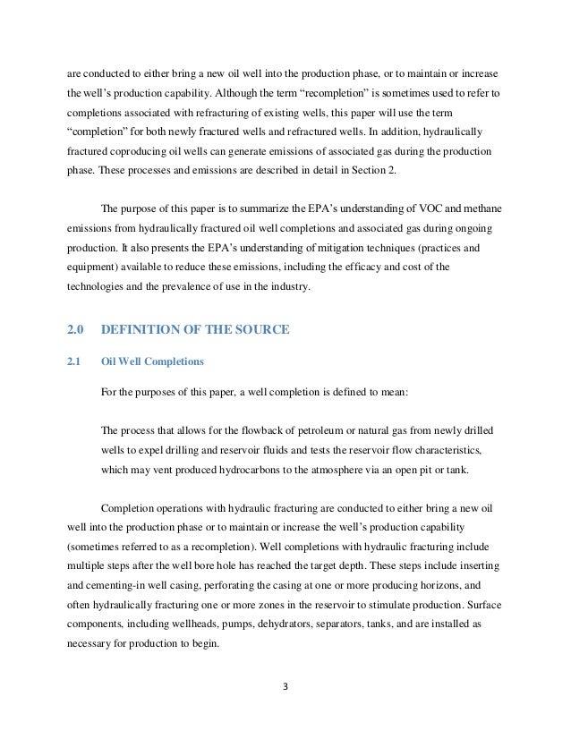 Essay on Methane
