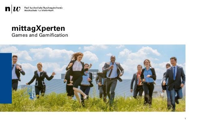 XING mittagXperten – Safak Korkut 28.04.2014 mittagXperten Games and Gamification 1