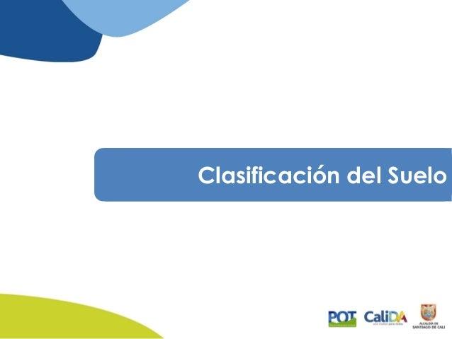 Propuesta pot cali 2014 modelo de ordenamiento for Modelo demanda clausula suelo