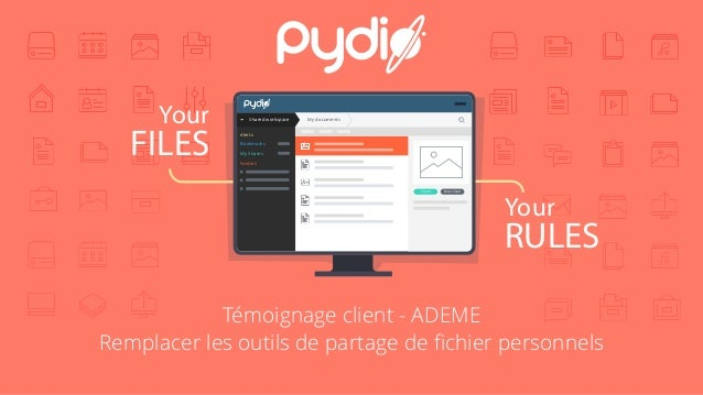 Your FILES Your RULES Shared workspace My documents Alerts Bookmarks My Shares Folders DownloadShare Témoignage client - A...
