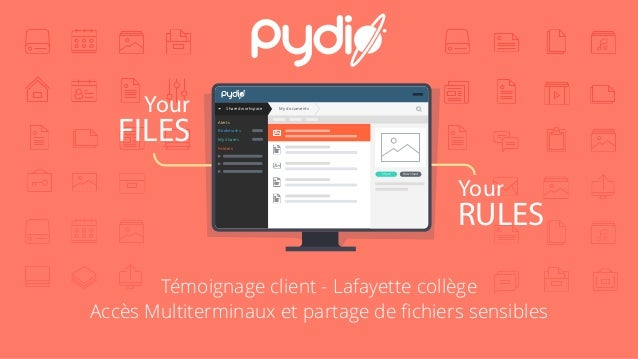 Your FILES Your RULES Shared workspace My documents Alerts Bookmarks My Shares Folders DownloadShare Témoignage client - L...