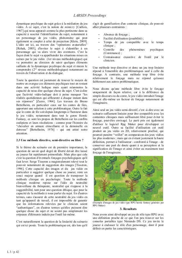 Play Research lab (PRL) - Actes de conférences