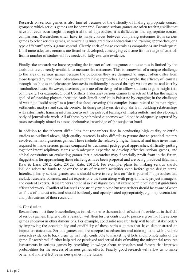 L 1 / p 21  LARSEN Proceedings  References  Almeida, L.R.; Silva. A.T.M.C.; Machado, L.S. (2013).  Games for the training ...