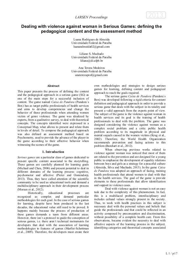 L 1 / p 27  LARSEN Proceedings  2013  Tam Tam : le « serious game » collaboratif pour parler des  questions qui fâchent  R...