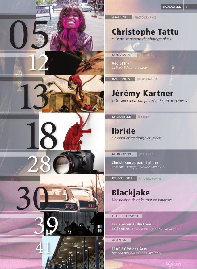 Eté 2014 - Degré Kelvin Magazine #1 Slide 3