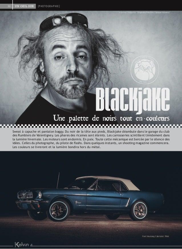 Interview / Rédaction : Stéphane Pellaton / Samuel Balmeur Une palette de noirs tout en couleurs Sweat à capuche et pantal...