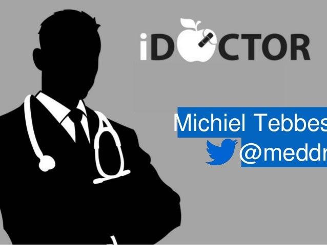 Michiel Tebbes @meddr
